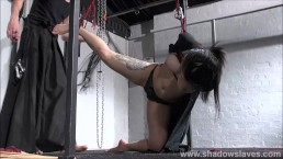 Whipped asian slavegirl Devils...