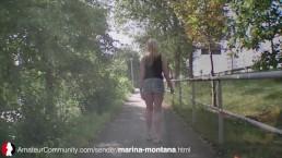 German MILF Marina Montana...