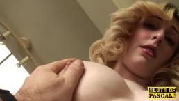 Dutiful uk submissive rubbing...