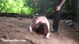 Crawling Saschas bizarre humiliation...