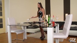 Flexible French Maid gets...