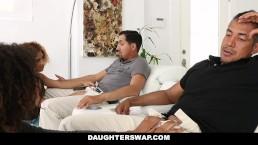 DaughterSwap - Hot Ebony teens...