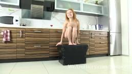 Liliya strips naked and...