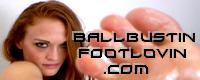 Ball Bustin Foot Lovin